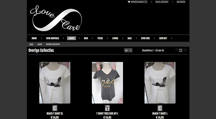 reclamewinkel-webshop-love-en-care