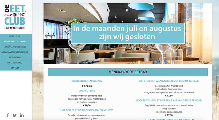 websites-maken-restaurat-de-eetclub